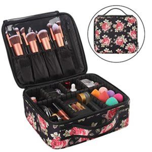 Portable Makeup Case Organizer